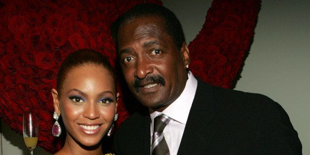 NEW YORK - JUNE 23:  (EXCLUSIVE) (L-R) Singer Beyonce Knowles poses with her father and  manager Matthew Knowles at the 'Beyo