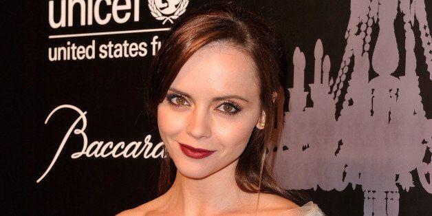NEW YORK, NY - DECEMBER 03:  Actress Christina Ricci attends The Ninth Annual UNICEF Snowflake Ball at Cipriani, Wall Street