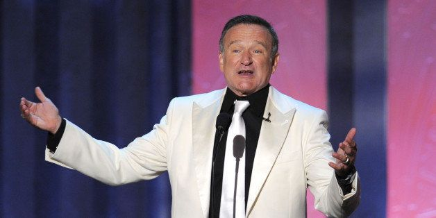 CULVER CITY, CA - JUNE 10:  Actor Robin Williams speaks onstage during the 38th AFI Life Achievement Award honoring Mike Nich