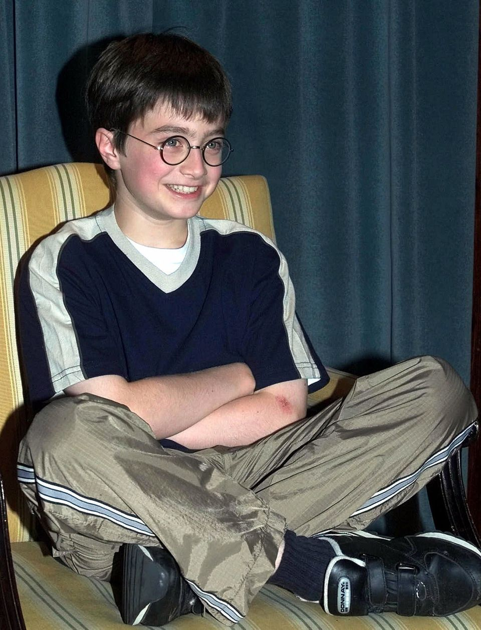 Daniel was announced as the star of 'Harry Potter' in 2000.