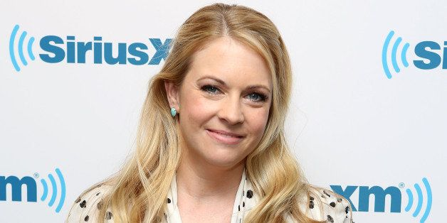 NEW YORK, NY - APRIL 09:  (EXCLUSIVE COVERAGE) Melissa Joan Hart  visits at SiriusXM Studios on April 9, 2014 in New York Cit