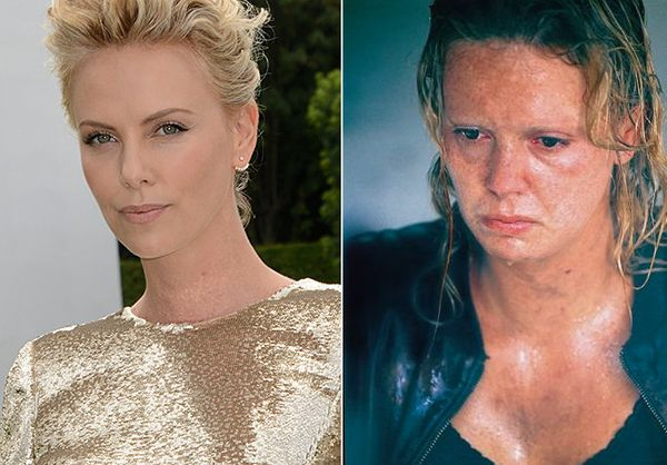 Theron won an Oscar for her portrayal of Aileen Wuornos, a Daytona Beach prostitute who became a serial killer.