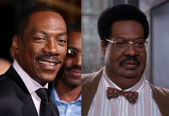 Murphy turned into the lovable Sherman Klump in the 1996 comedy.