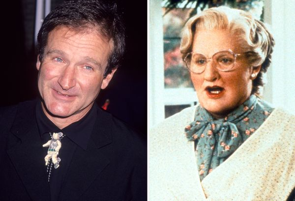 Williams' memorable performance as Mrs. Doubtfire will always put a smile on our faces.
