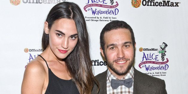 CHICAGO, IL - SEPTEMBER 15:  Meagan Camper and Pete Wentz attend the Green Tie Ball XXI Benefiting Chicago Gateway Green at A