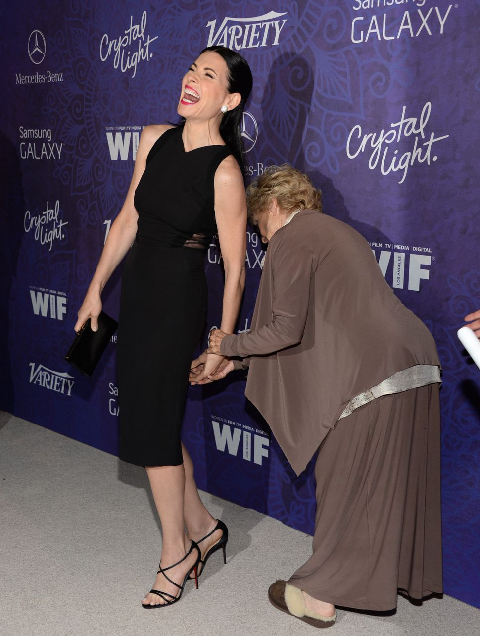 """The Good Wife"" / Just a lot of fun <br> Variety and Women in Film's pre-Emmy celebration"