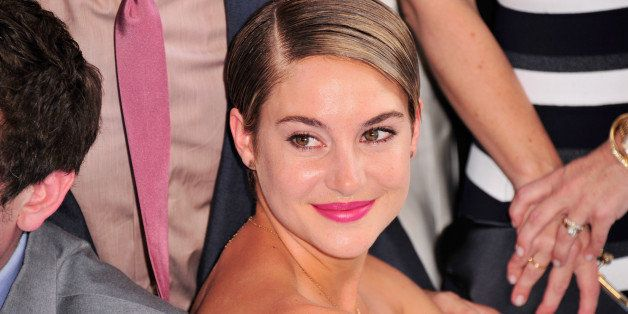 NEW YORK, NY - JUNE 02:  Shailene Woodley attends 'The Fault in Our Stars' premiere at the Ziegfeld Theater on June 2, 2014 i