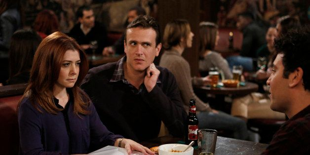 LOS ANGELES - DECEMBER 7: 'Band or D.J. ?' -- Coverage of the CBS series HOW I MET YOUR MOTHER, scheduled to air on the CBS T