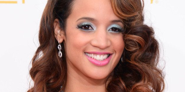 Dascha Polanco arrives at the 66th Annual Primetime Emmy Awards at the Nokia Theatre L.A. Live on Monday, Aug. 25, 2014, in L