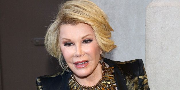 Joan Rivers' Unplanned Throat Biopsy Caused Her To Stop Breathing (REPORT) (UPDATE)
