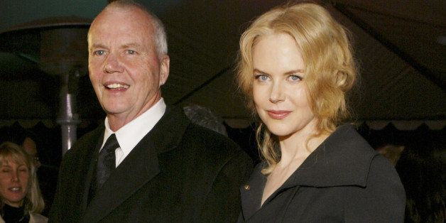 Nicole Kidman and father Anthony during Palm Springs International Film Festival Awards Gala presented by Tiffany & Co. - Red