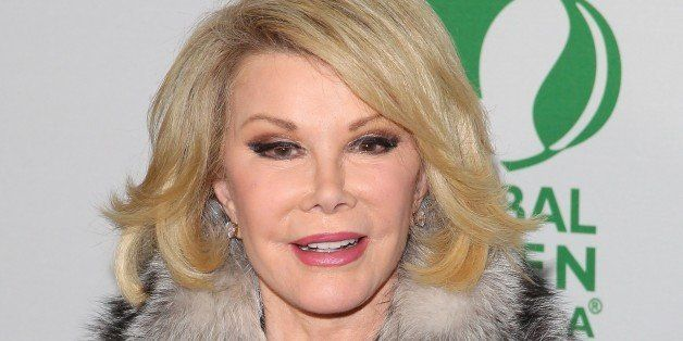 HOLLYWOOD, CA - FEBRUARY 26: Joan Rivers attends the Global Green USA's 11th Annual Pre-Oscar Party held at Avalon on Februar