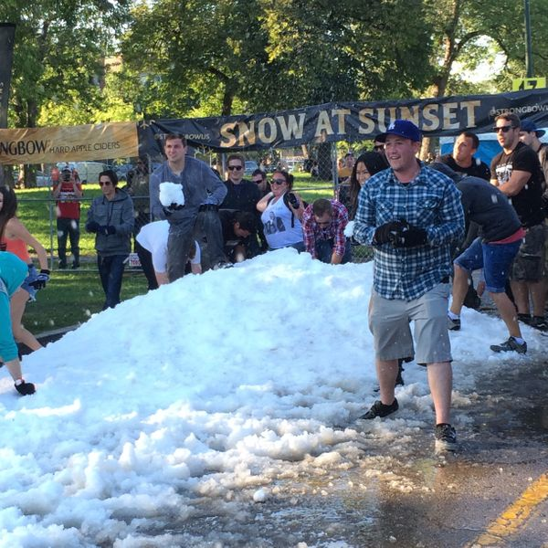 Chicagoans can pretend they've never seen snow in September... but they probably have.