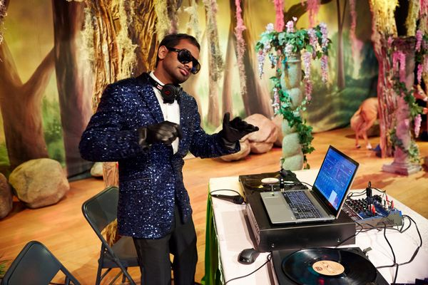 """""""Tom Haverford is a selfish, sleazy, self-promoting, good-hearted, secretly kind and wonderful tiny, little person."""""""