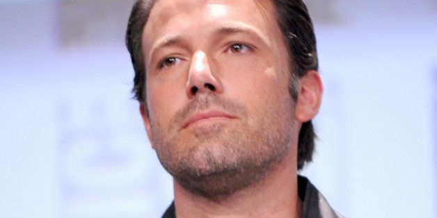 SAN DIEGO, CA - JULY 26:  Actor Ben Affleck attends the Warner Bros. Pictures panel and presentation during Comic-Con Interna