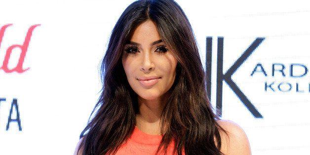SYDNEY, AUSTRALIA - SEPTEMBER 13:  Kim Kardashian attends the Kardashian Kollection Spring Launch at Westfield Parramatta on