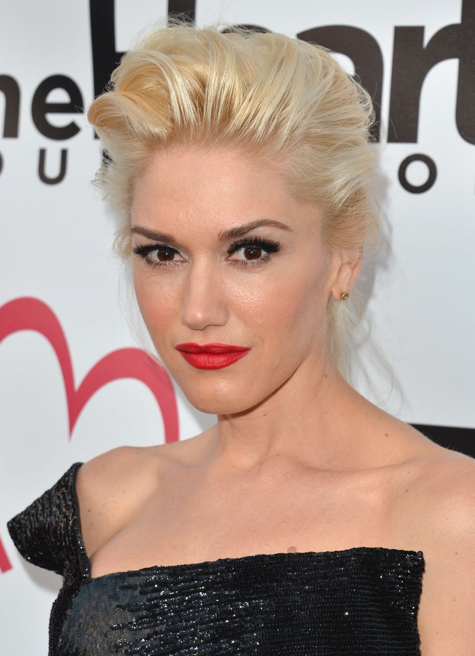 HOLLYWOOD, CA - MAY 10:  Singer Gwen Stefani arrives to The Heart Foundation Gala at Hollywood Palladium on May 10, 2012 in H