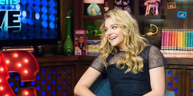 WATCH WHAT HAPPENS LIVE -- Pictured: Chloe Grace Moretz -- (Photo by: Charles Sykes/Bravo/NBCU Photo Bank via Getty Images)