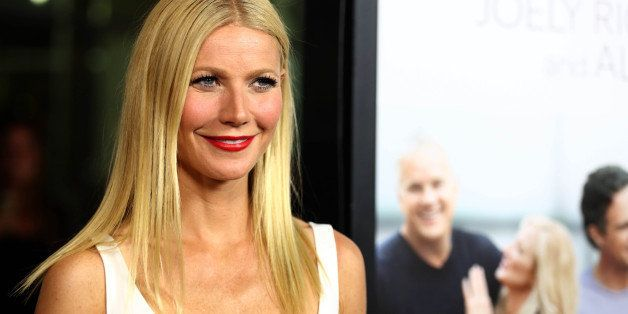 "Gwyneth Paltrow arrives at the premiere of ""Thanks for Sharing"" at the ArcLight Hollywood on Monday, Sept. 16, 2013 in Los An"