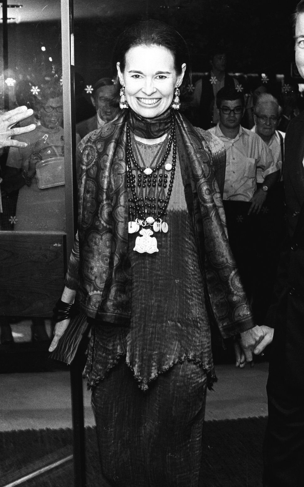 1963: Gloria Vanderbilt during New York Film Festival Opening at Alice Tully Hall in New York City, New York. (Photo by Ron G