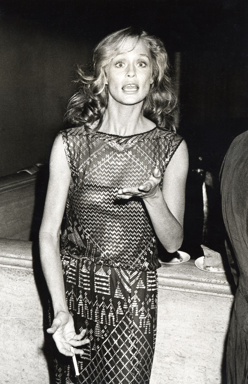 """Lauren Hutton during Opening Night of """"A Wedding"""" At The New York Film Festival at Avery Fisher Hall, Sept. 1978, in New York"""