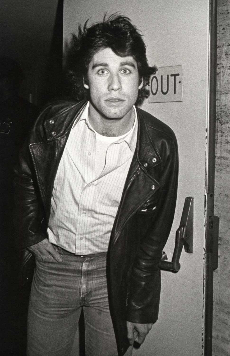 """John Travolta during the 1980 New York Film Festival, Featuring """"The Last Metro"""" at Lincoln Center in New York City, New York"""