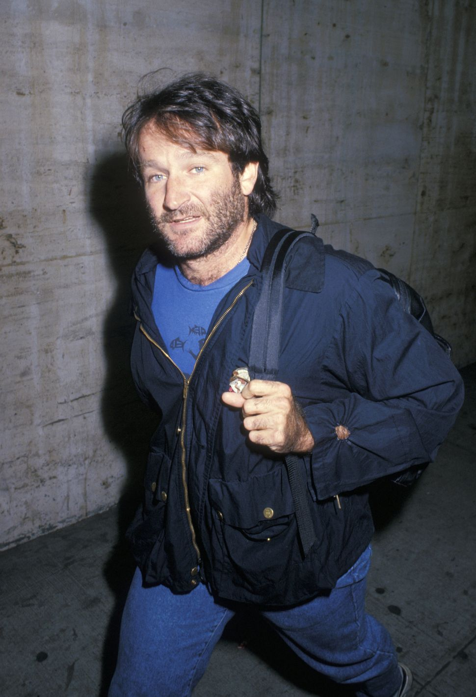 Robin Williams during New York Film Festival - Sept. 23, 1988 at Lincoln Center in New York City, New York, United States. (P