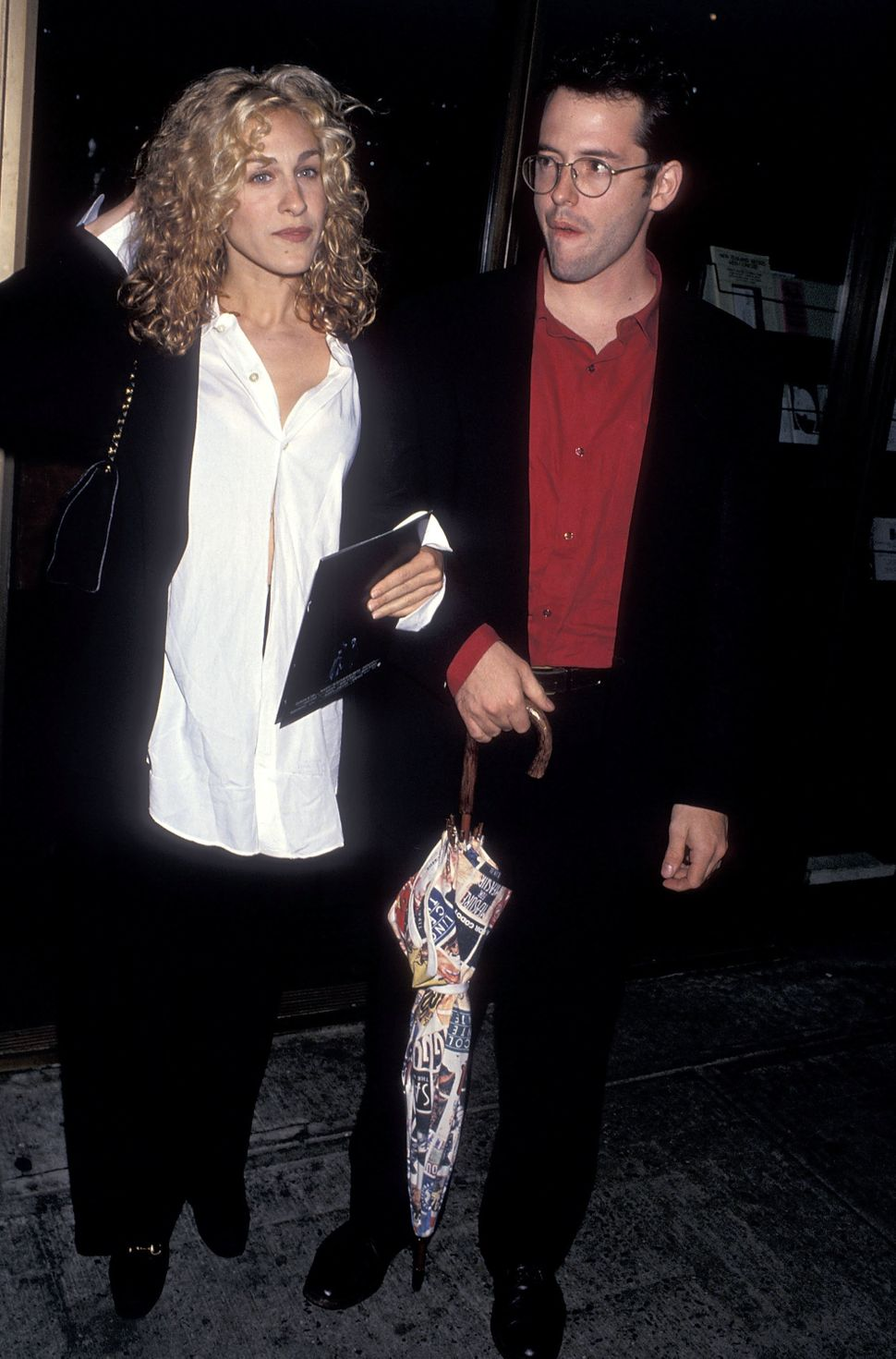 Actress Sarah Jessica Parker and actor Matthew Broderick attend 31st Annual New York Film Festival - 'The Nightmare Before Ch