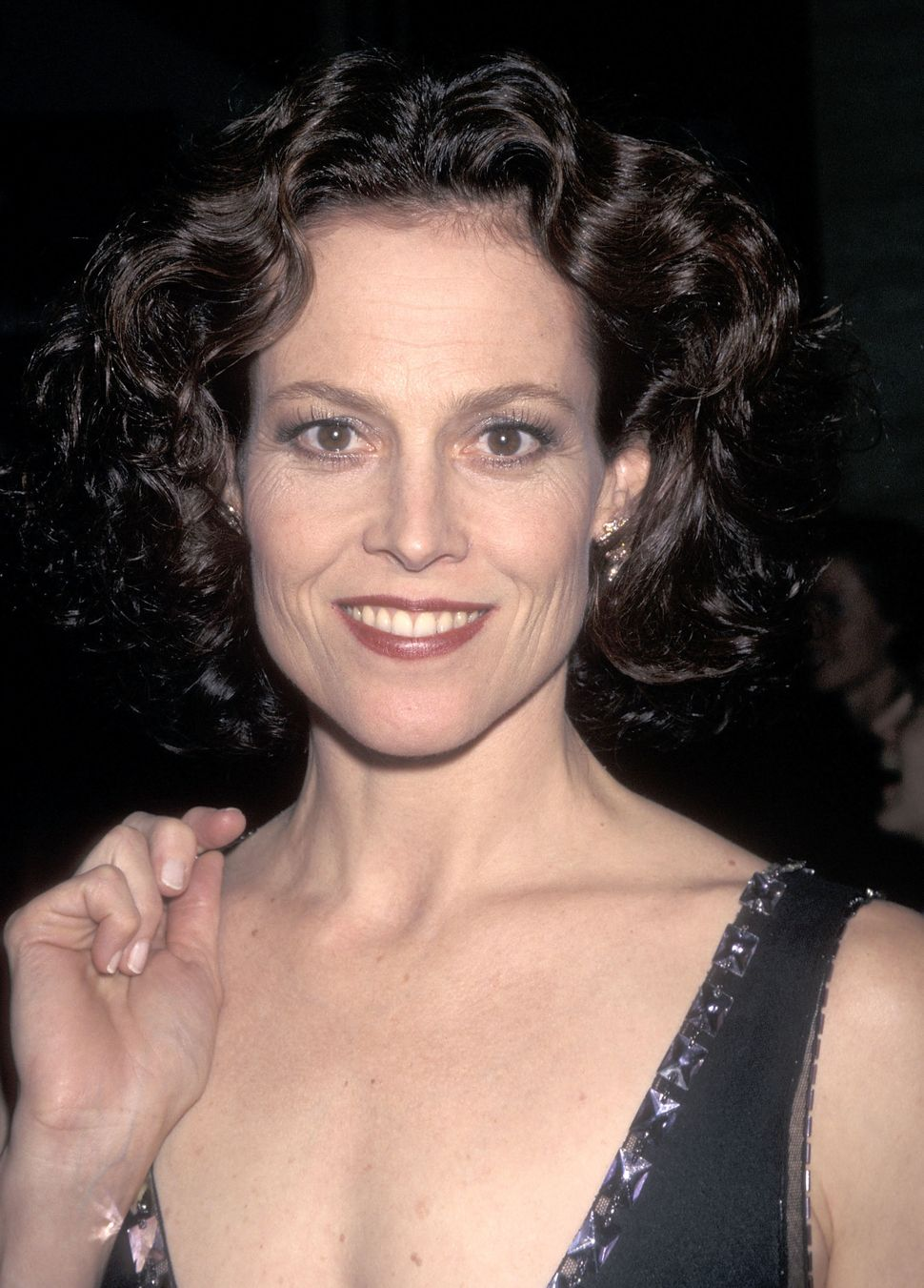 Actress Sigourney Weaver attends the 35th Annual New York Film Festival Opening Night - 'The Ice Storm' Screening on Sept. 26