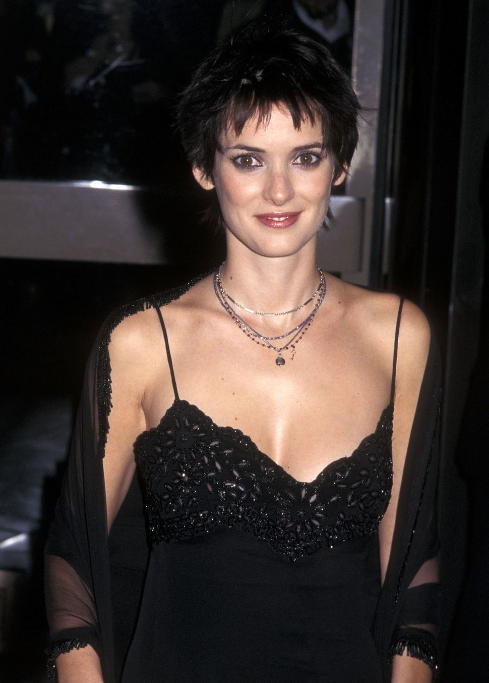 Actress Winona Ryder attends the 36th Annual New York Film Festival Opening Night - 'Celebrity' Screening on Sept. 25, 1998 a