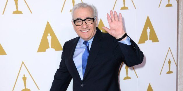 Martin Scorsese arrives at the 86th Oscars Nominees Luncheon, on Monday, Feb., 10, 2014 in Beverly Hills, Calif. (Photo by Jo