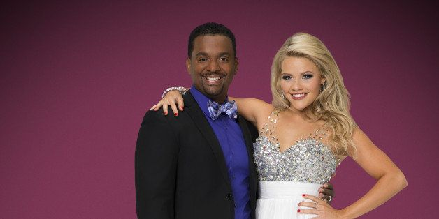 DANCING WITH THE STARS - ALFONSO RIBEIRO & WITNEY CARSON - The stars grace the ballroom floor for the first time on live nati