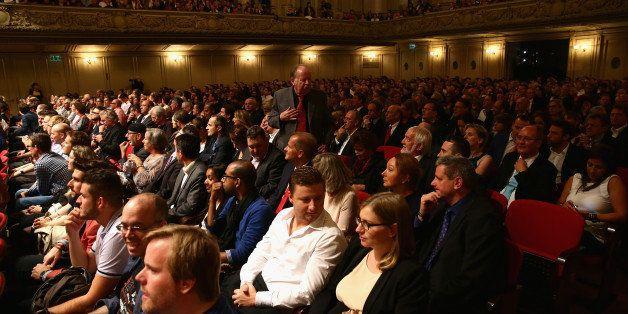 ZURICH, SWITZERLAND - OCTOBER 01:  A general view during the 'Film Musik Wettbewerb' during Day 7 of Zurich Film Festival 201