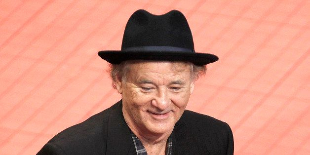 BERLIN, GERMANY - FEBRUARY 08: Bill Murray attends 'The Monuments Men' Premiere - Audi during The 64th Berlinale Internationa