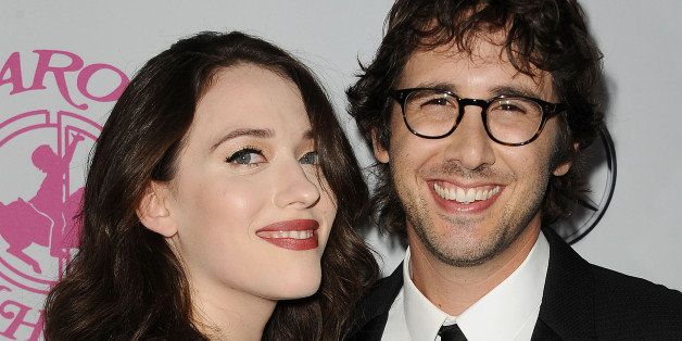 BEVERLY HILLS, CA - OCTOBER 11:  Actress Kat Dennings and singer Josh Groban attend the 2014 Carousel of Hope Ball at The Bev