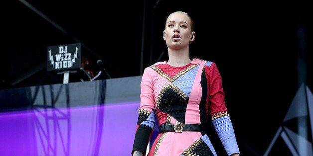 AUSTIN, TX - OCTOBER 11:  Iggy Azalea performs during the second day of the second weekend of Austin City Limits Music Festiv