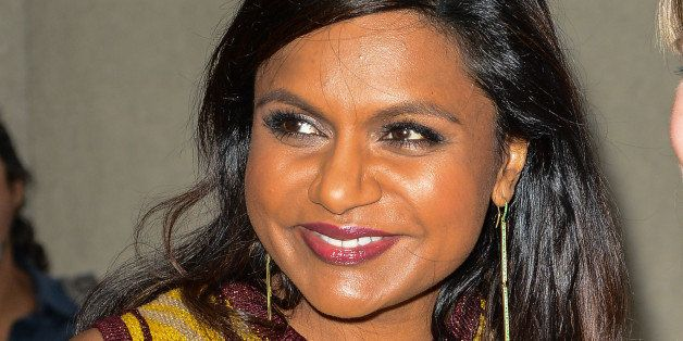 NEW YORK, NY - SEPTEMBER 12:  Actress Mindy Kaling leaves the 'Today Show' taping at the NBC Rockefeller Center Studios on Se