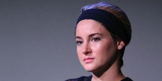NEW YORK, NY - OCTOBER 16:  Shailene Woodley attends the Apple Store Soho Presents: Meet the Filmmakers: Director Gregg Araki