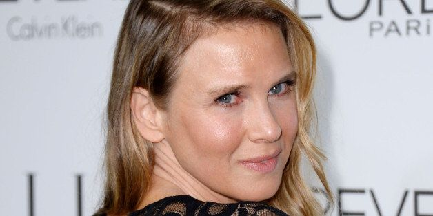 Renee Zellweger arrives at ELLE's 21st annual Women In Hollywood Awards at the Four Season Hotel on Monday, Oct. 20, 2014, in