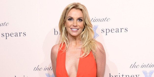 NEW YORK, NY - SEPTEMBER 09:  Britney Spears poses at the exclusive unveiling of The Intimate Britney Spears at New York Publ