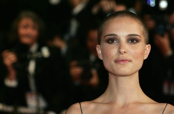 In the film, Portman plays Evey, a British woman who gets wrapped up in the revolutionary mission of the masked V. While impr