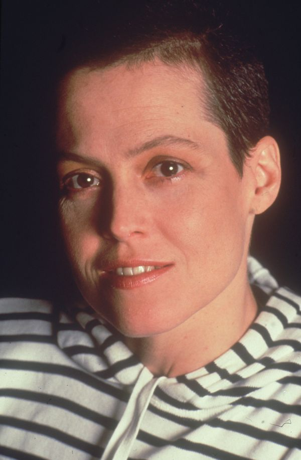 """Sigourney Weaver's Ripley had long hair for the first two """"Alien"""" films, but finally shaved it all off for David Fincher's """"A"""