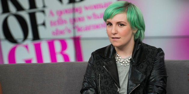 Lena Dunham visits CTV's THE SOCIAL to discuss her first book, Not That Kind of Girl: A Young Woman Tells You What She's â€