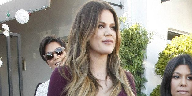 """6e78a812e2 """"Keeping Up With the Kardashians"""" Season 10 is currently in production and  Khloe Kardashian was dressed to the nines while filming in West Hollywood  ..."""