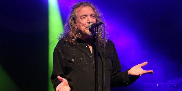 NEW YORK, NY - OCTOBER 09:  Robert Plant and the Sensational Space Shifters perform at Brooklyn Bowl on October 9, 2014 in Ne