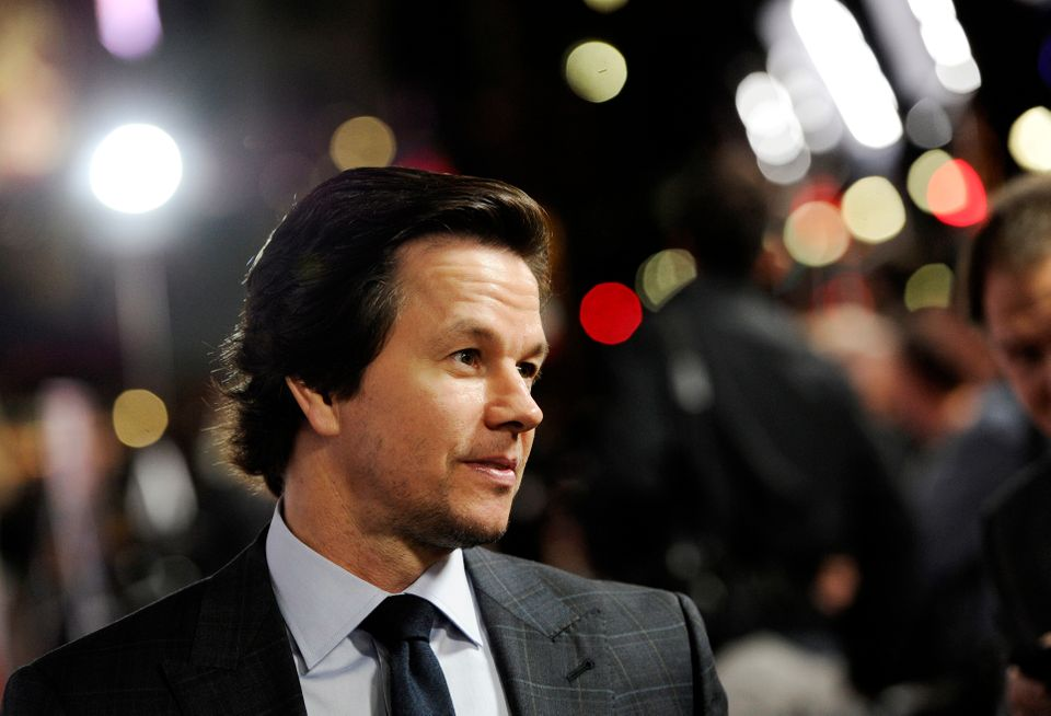 """Mark Wahlberg, star and producer of """"The Gambler,"""" works the press line at the premiere of the film at AFI Fest 2014 on Monda"""