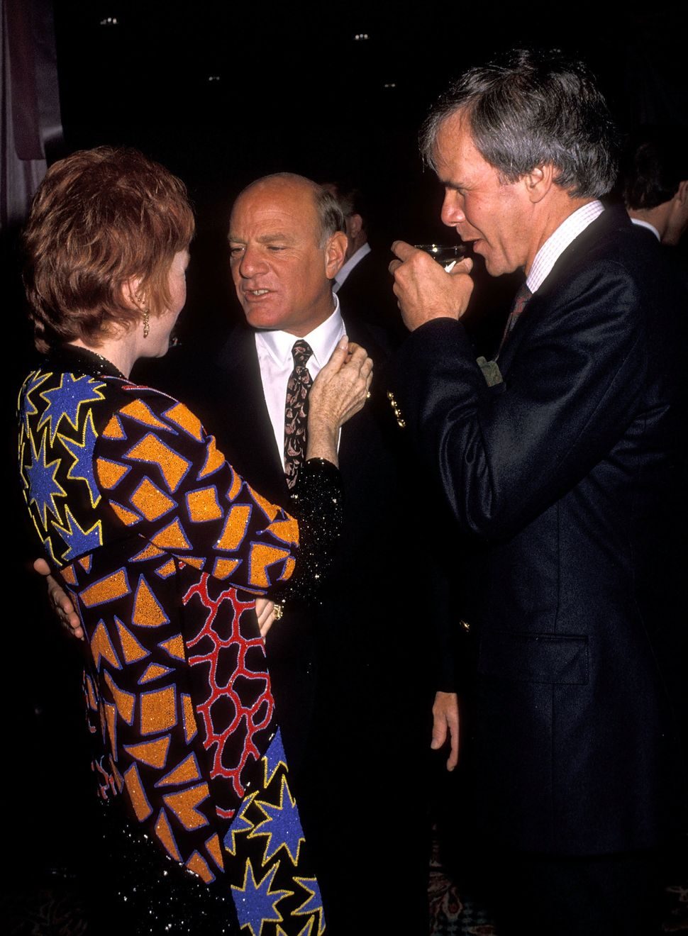Nov. 5, 1989, during the New York premiere party at the Hilton Hotel