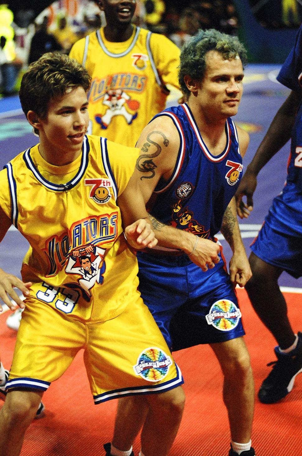 MTV Rock N' Jock Basketball, 1997