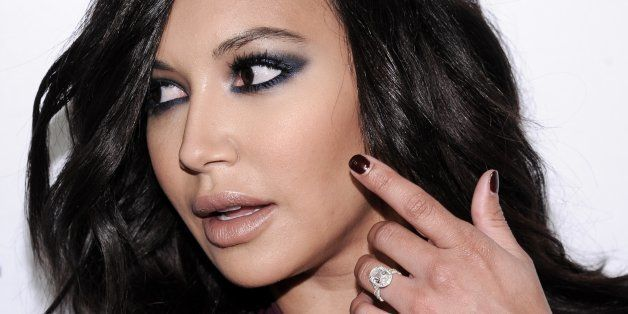 Naya Rivera arrives at the Opening Of Famed Photographer Brian Bowen Smith's WILDLIFE on Thursday, Oct. 23, 2014, in West Hol