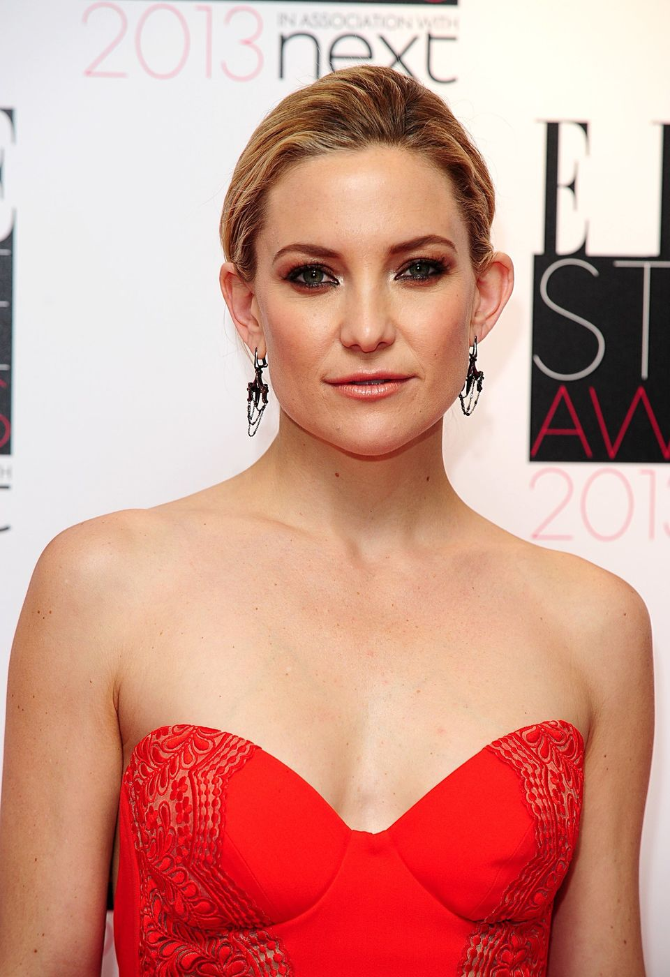 Kate Hudson at the 2013 Elle Style Awards at The Savoy Hotel in central London.
